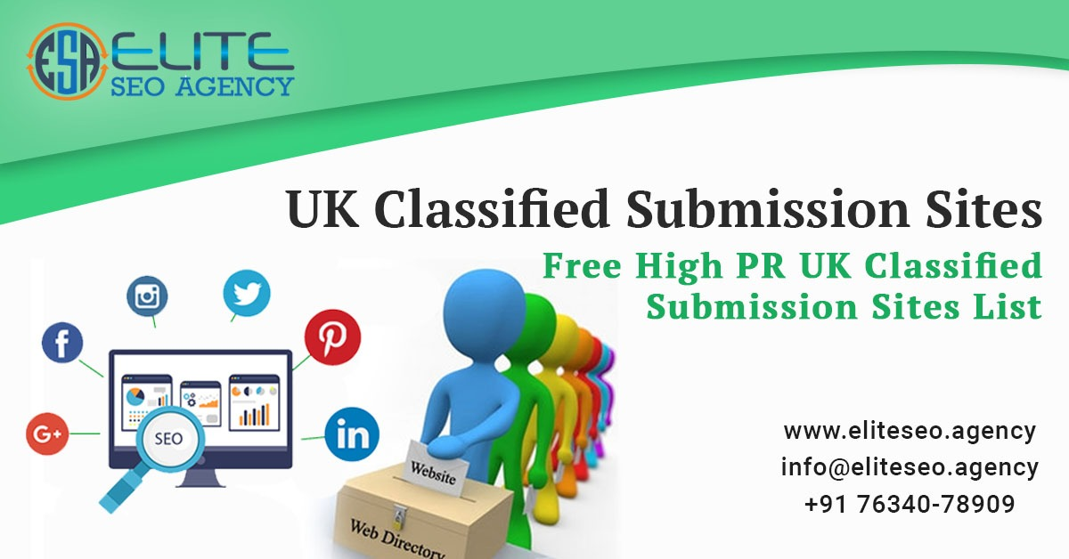 High PR UK Classified Submission Sites List 2019 | Elite SEO Agency