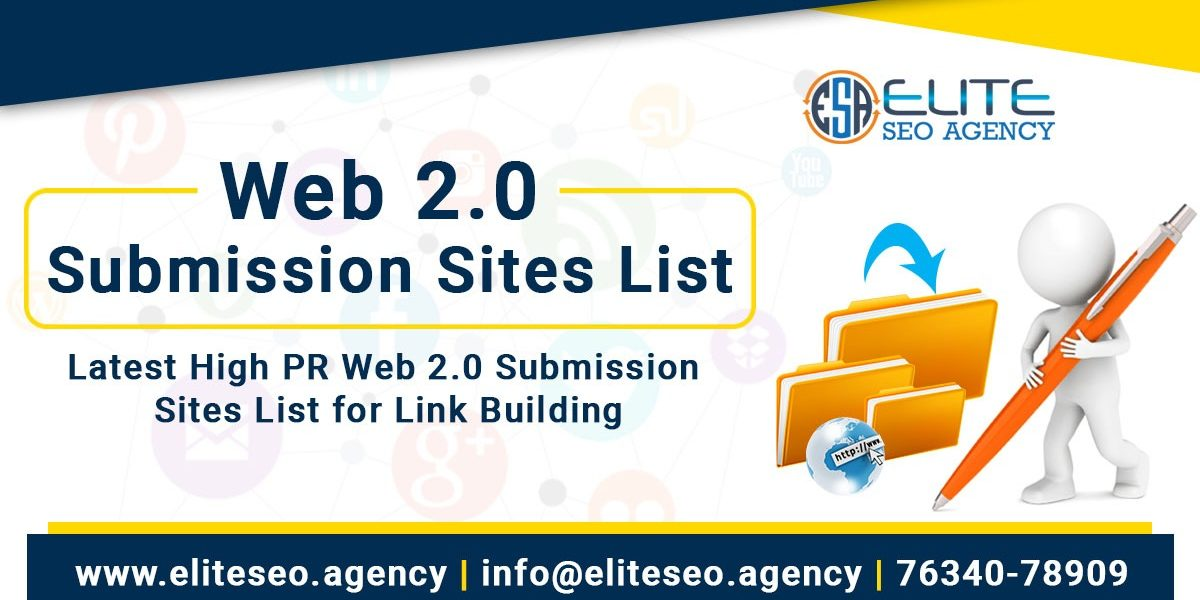 High PR Web 2 0 Submission Sites List for Link Building in